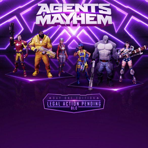 Agents of Mayhem - Legal Action Pending DLC