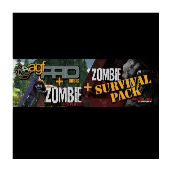 Axis Game Factory's + Zombie FPS + Zombie Survival Pack DLC