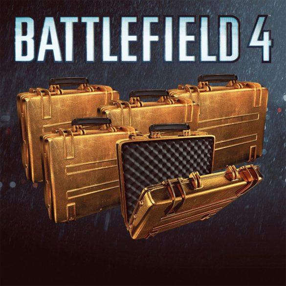 Battlefield 4 - 3 x Gold Battlepacks (DLC)