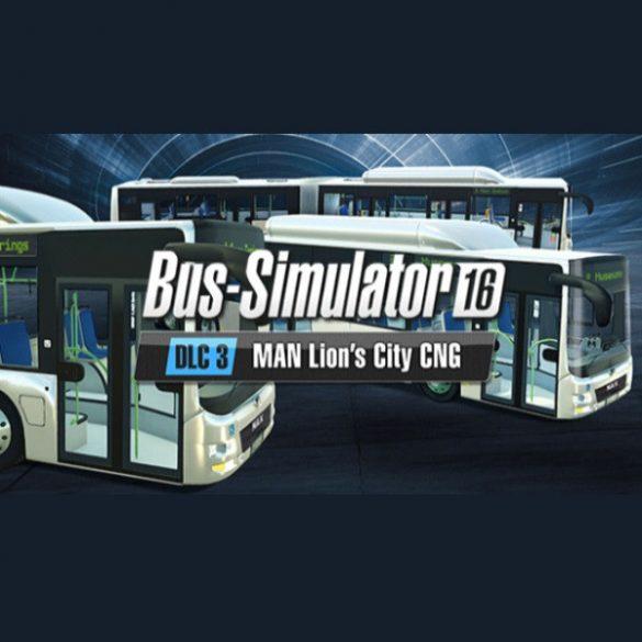 Bus Simulator 16: - MAN Lion's City CNG Pack