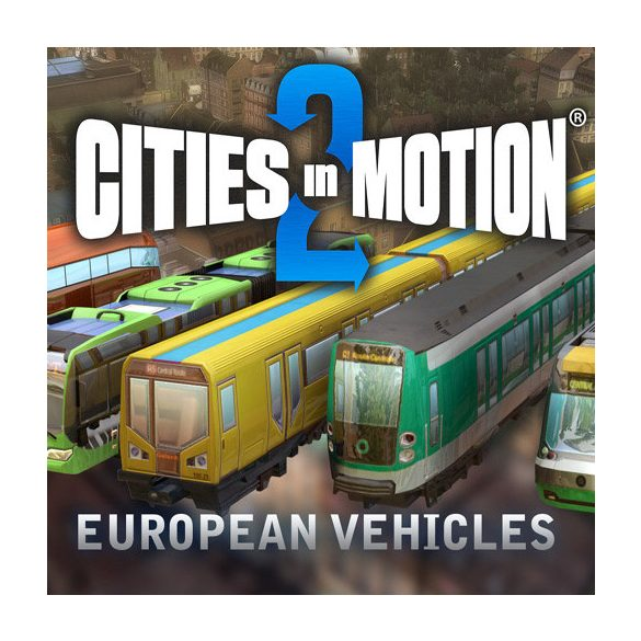 Cities in Motion 2 - European vehicle pack (DLC)