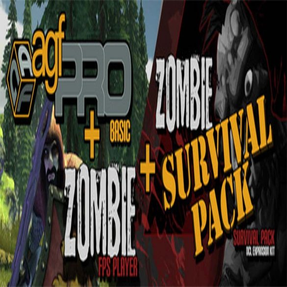 Axis Game Factory's AGFPRO - Zombie Survival Pack