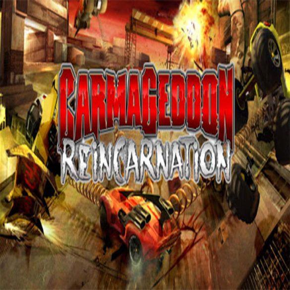 Carmageddon: Reincarnation - Red Eagle Car Model