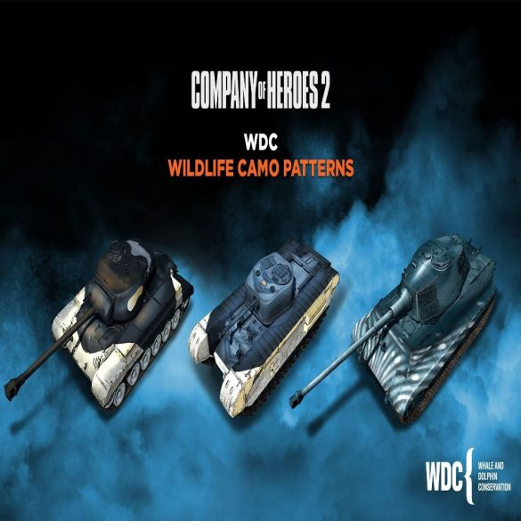 Company of Heroes 2 - Whale and Dolphin Pattern Pack