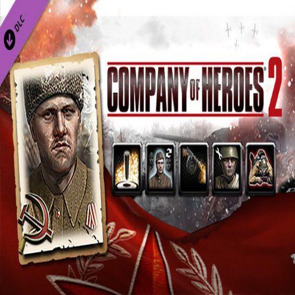 Company of Heroes 2: Soviet Commander - Conscripts Support Tactics (DLC)