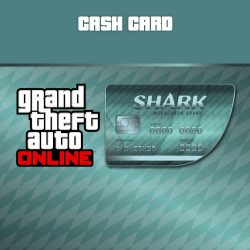 Grand Theft Auto V GTA + Megalodon Shark Cash Card
