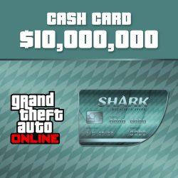 Grand Theft Auto V GTA: Megalodon Shark Cash Card
