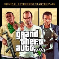 Grand Theft Auto V and Criminal Enterprise Starter Pack Bundle (EU)