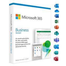 Microsoft Office 365 Business Standard (5 eszköz / 1 év)