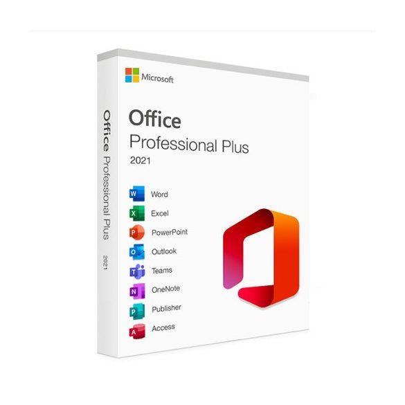 Microsoft Office 2021 Professional Plus (Online aktiválás)